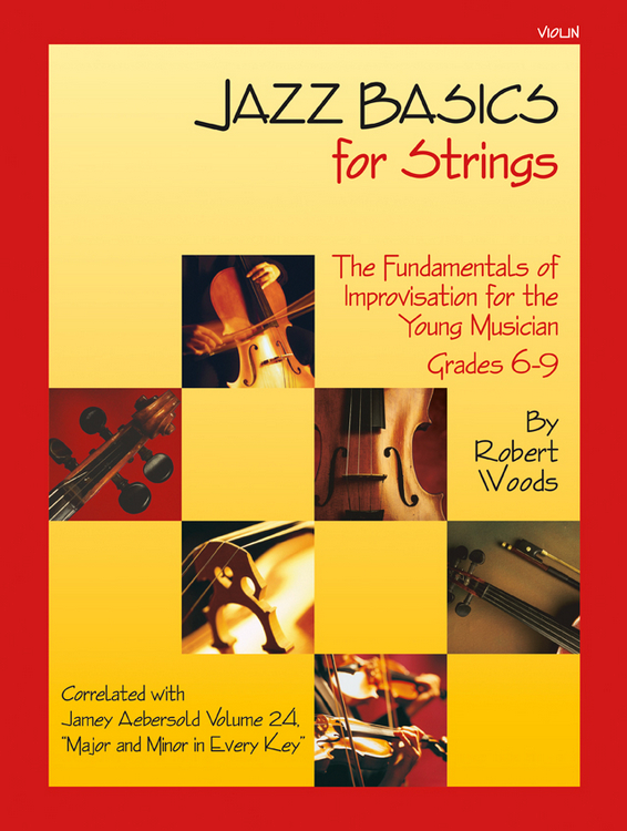 Jazz Basics for Strings - Violin