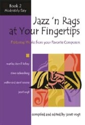 Jazz 'n Rags at Your Fingertips - Book 2, Moderately Easy