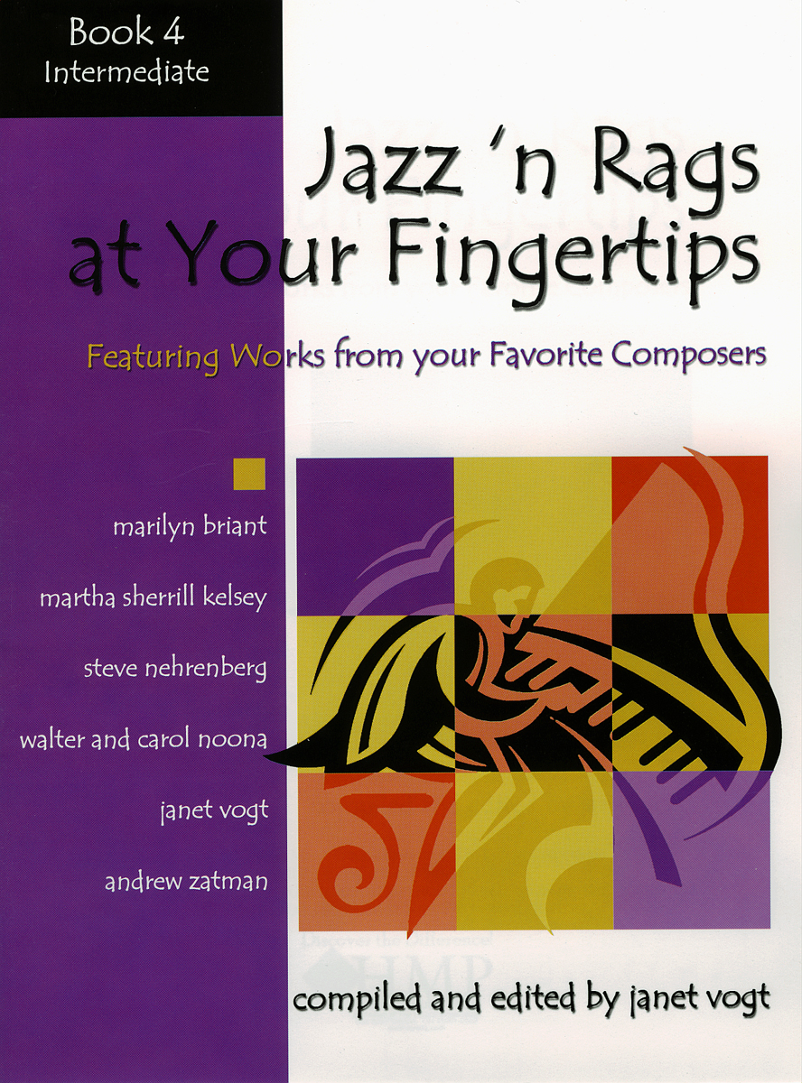 Jazz 'n Rags at Your Fingertips - Book 4, Intermediate