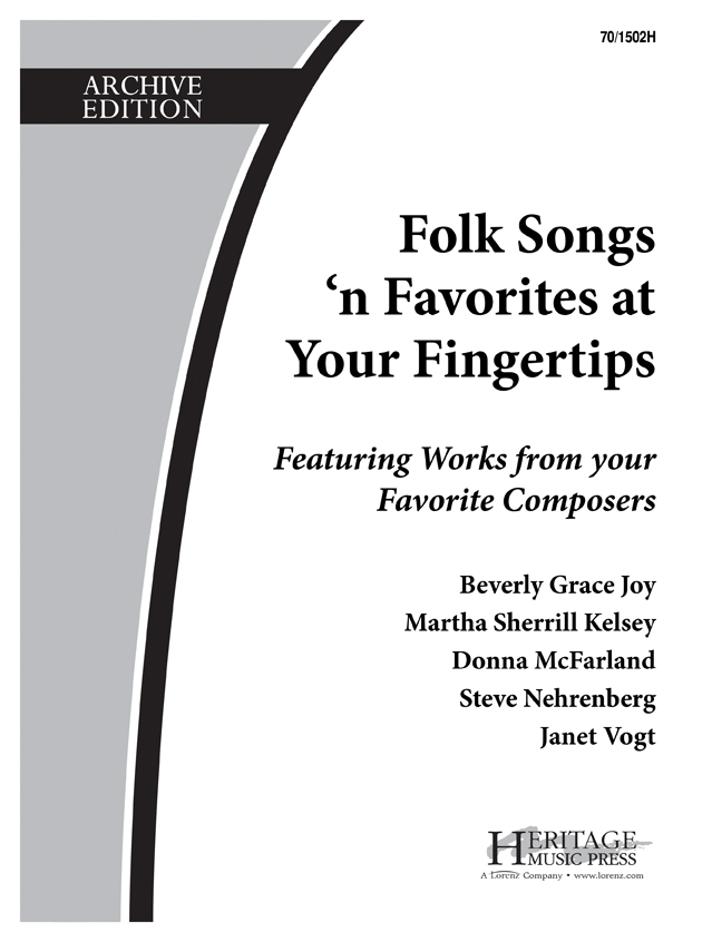 Folk Songs 'n Favorites at Your Fingertips - Book 2