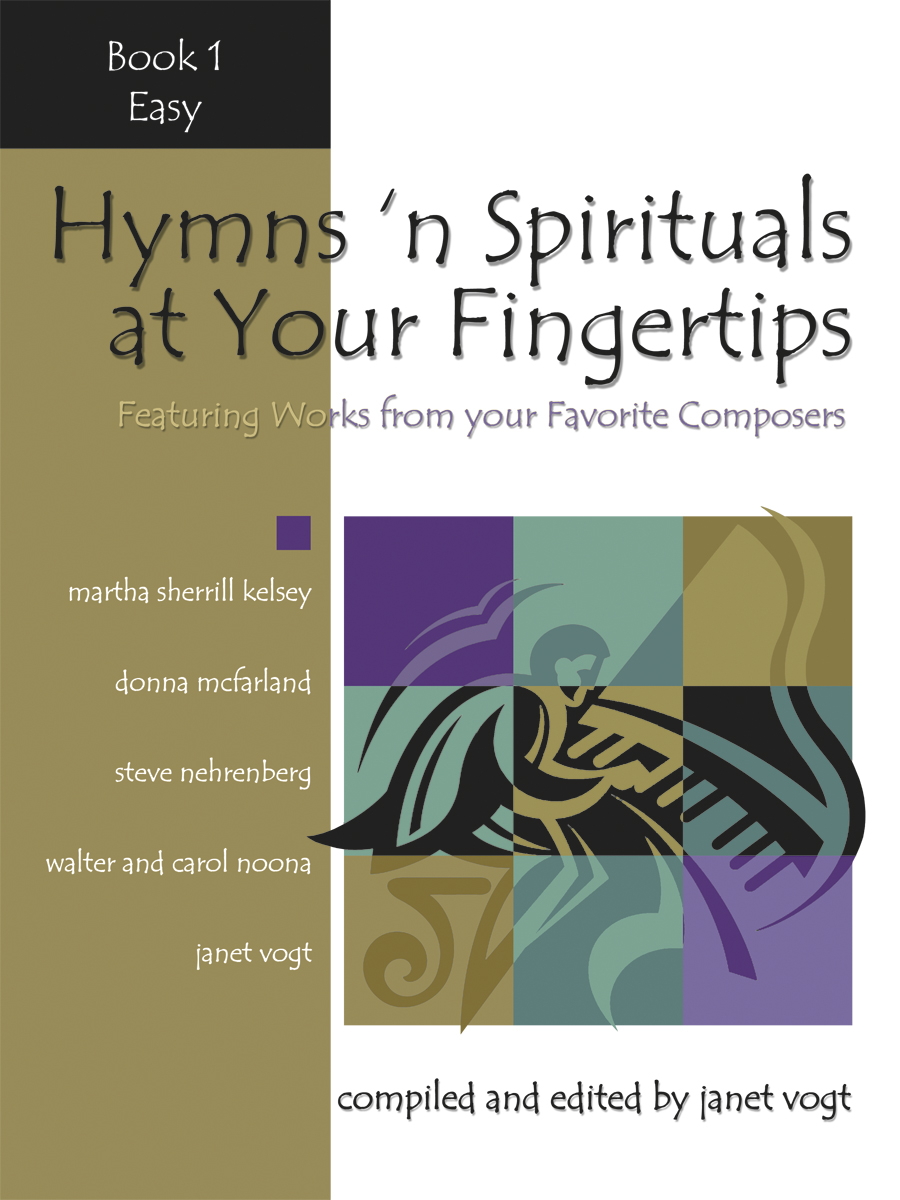 Hymns 'n Spirituals at Your Fingertips - Book 1