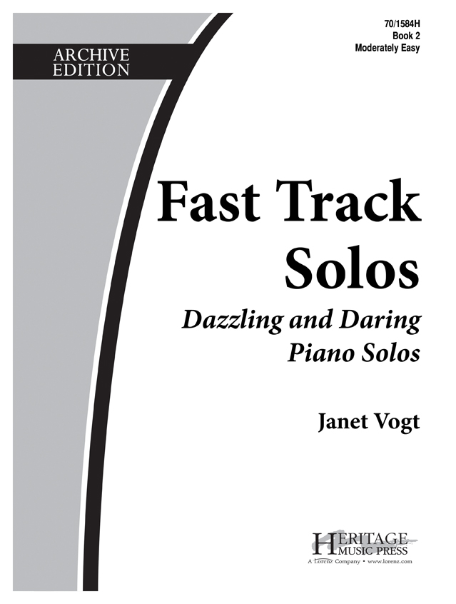 Fast Track Solos - Book 2, Moderately Easy