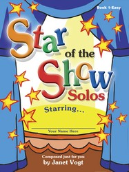 Star of the Show Solos - Book 1, Easy