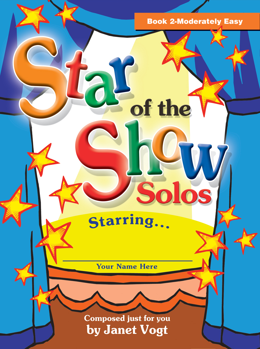 Star of the Show Solos - Book 2, Moderately Easy