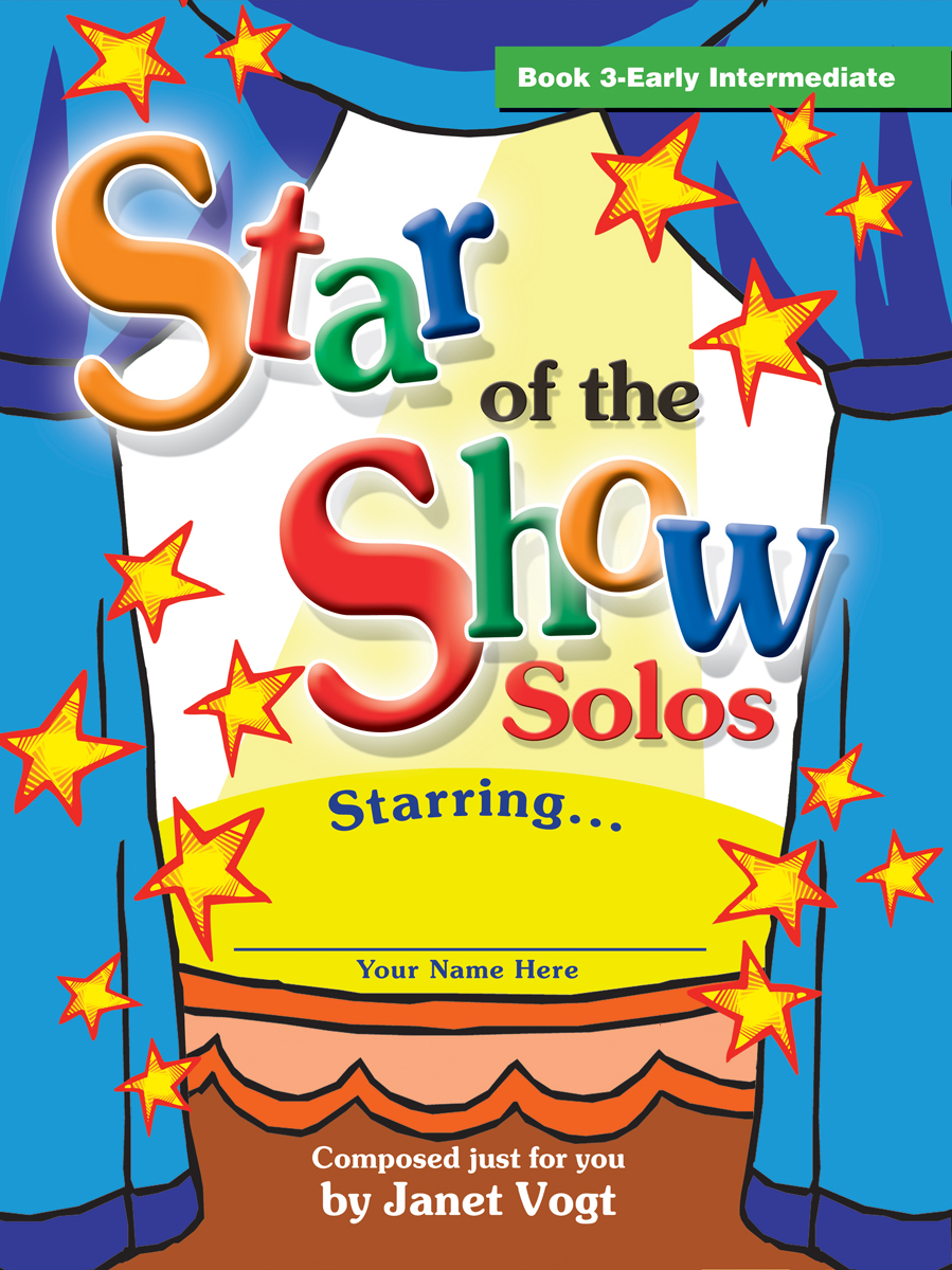 Star of the Show Solos - Book 3, Early Intermediate