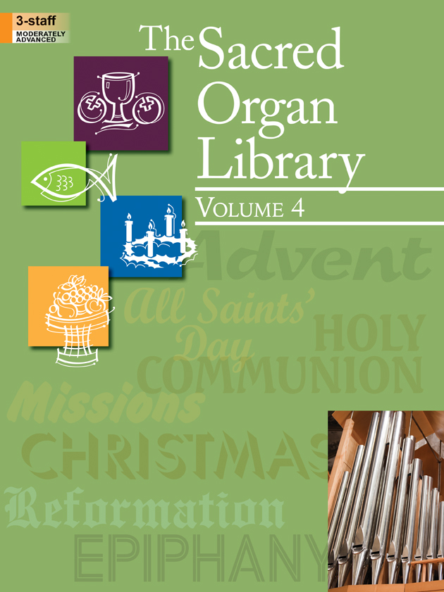 The Sacred Organ Library, Vol. 4