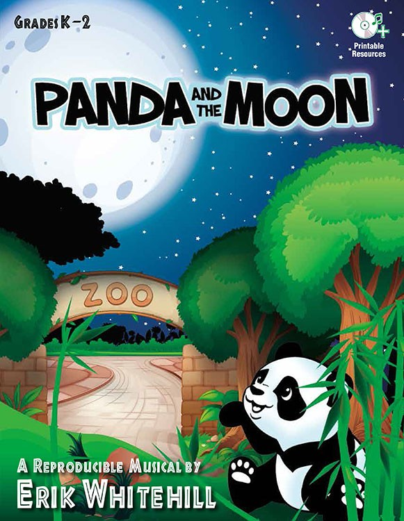 Panda and the Moon
