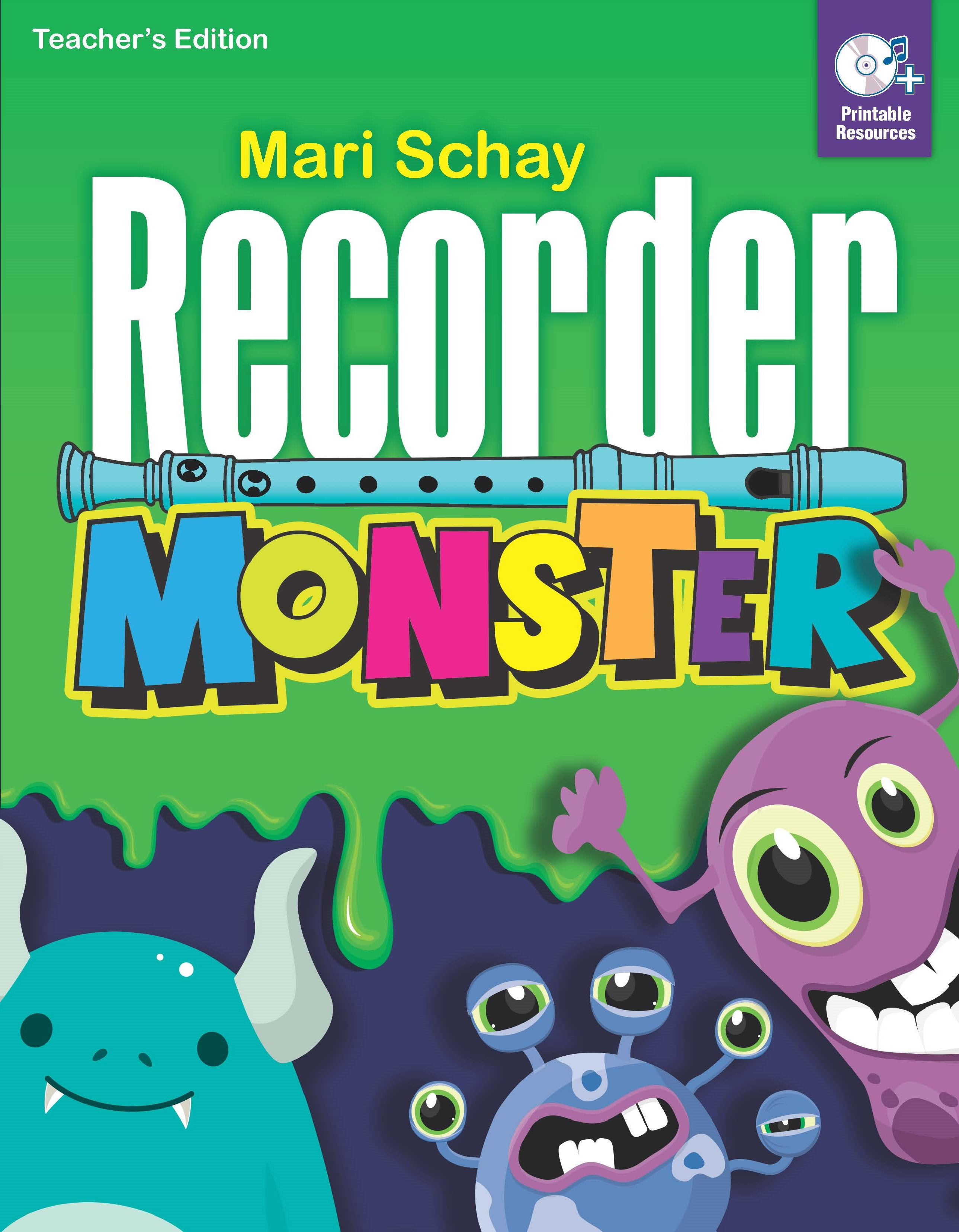 Recorder Monster Teacher Book