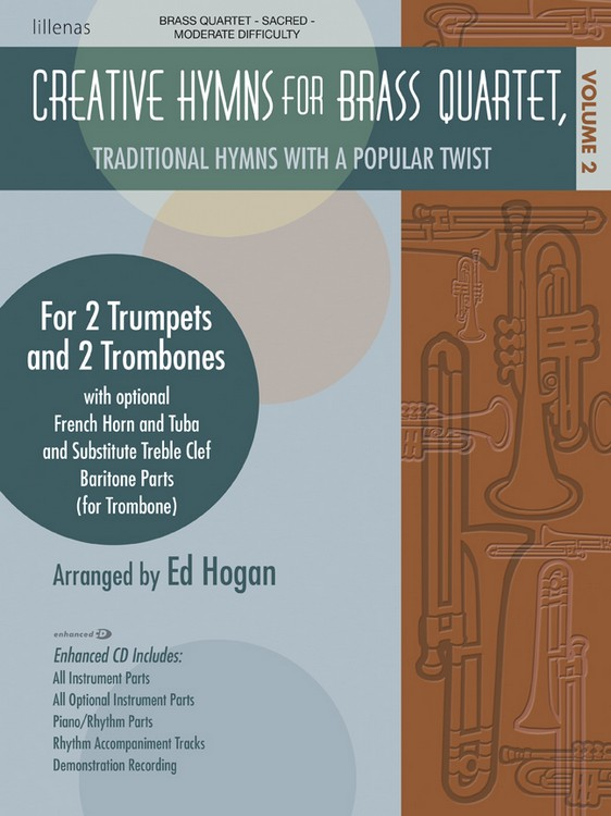 Creative Hymns for Brass Quartet, Vol. 2