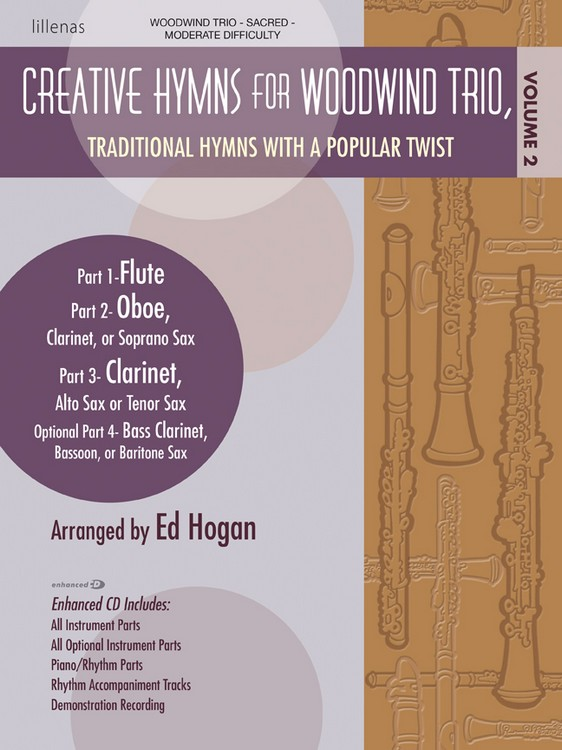 Creative Hymns for Woodwind Trio, Vol. 2