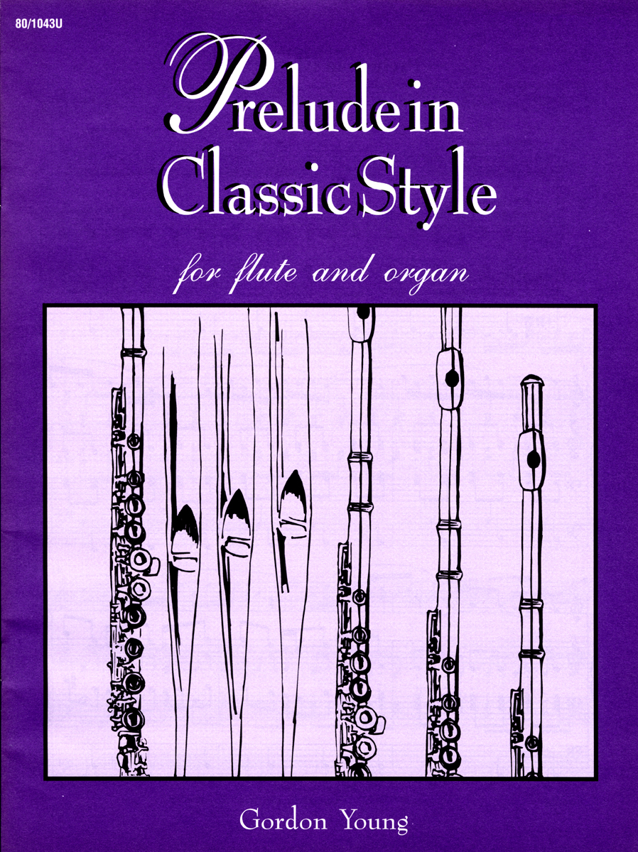 Prelude in Classic Style for Flute and Organ
