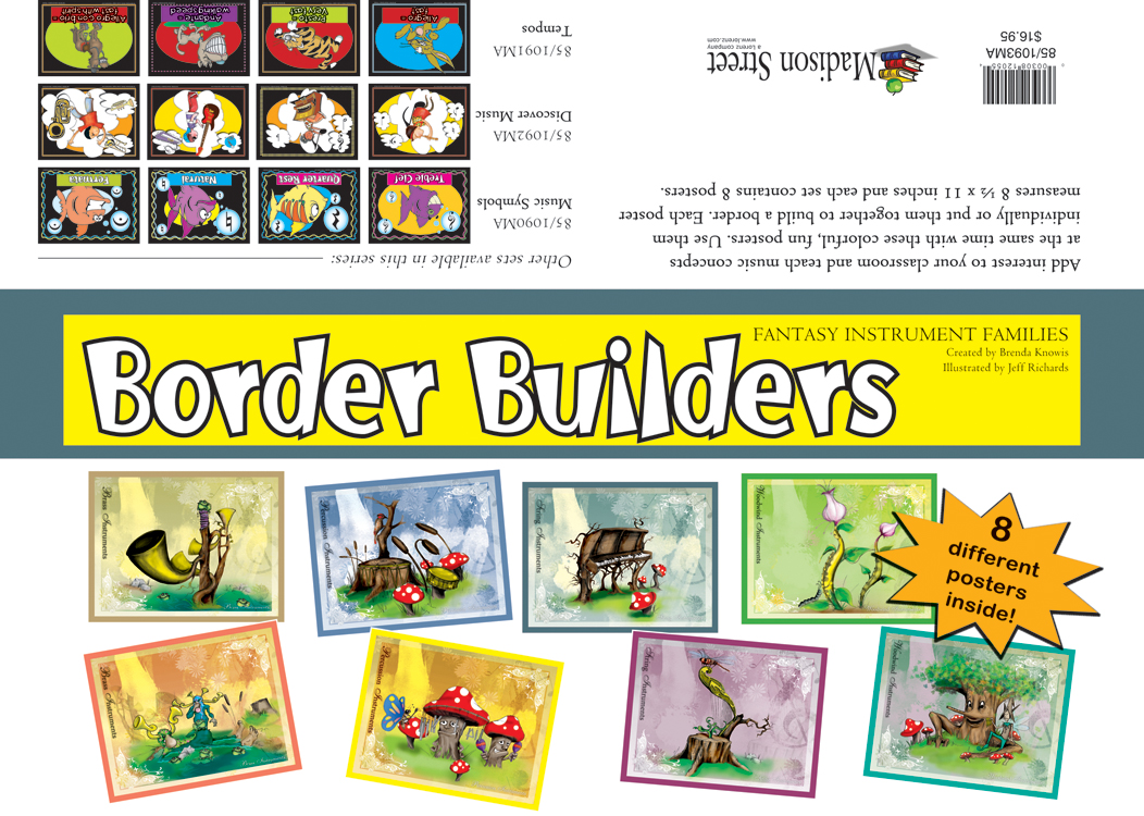 Border Builders - Fantasy Instrument Families