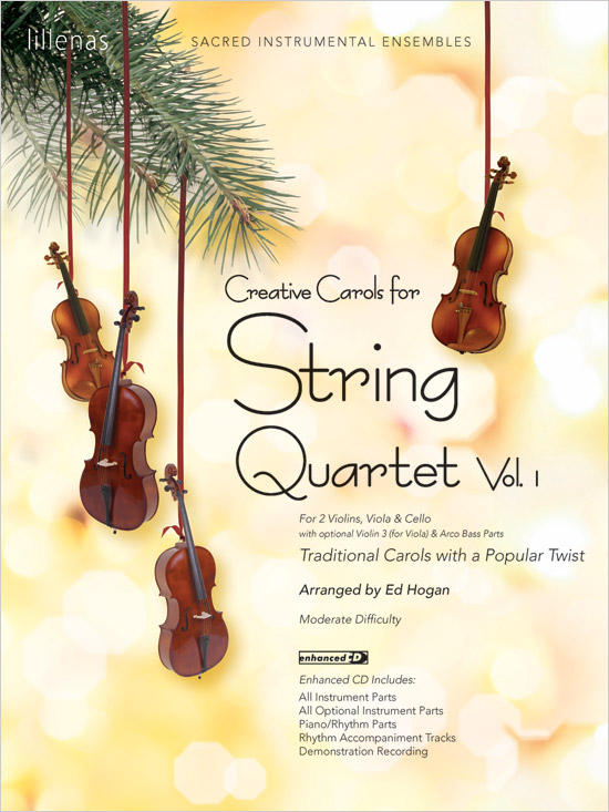 Creative Carols for String Quartet, Volume 1