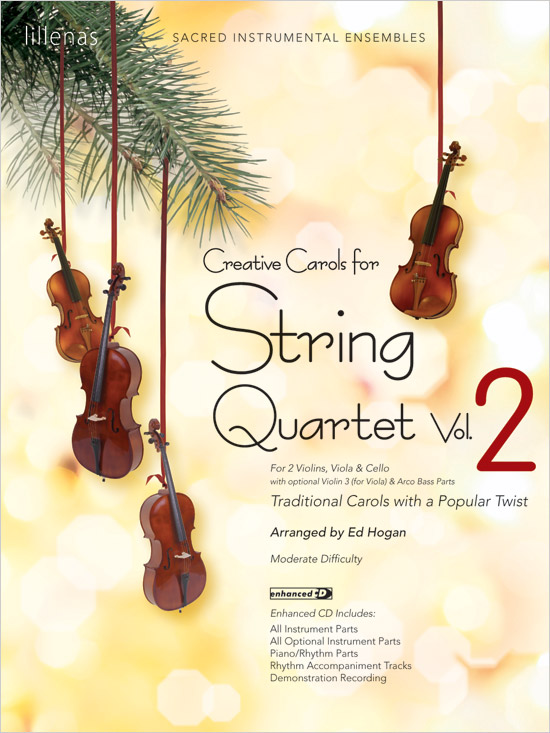 Creative Carols for String Quartet, Volume 2