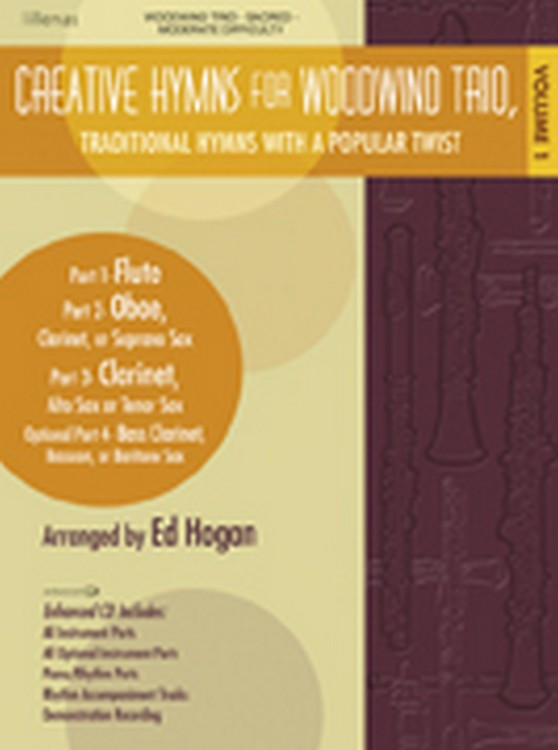 Creative Hymns for Woodwind Trio, Vol. 1