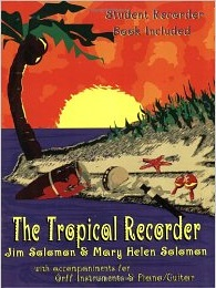 The Tropical Recorder - Student Books (4-pack)