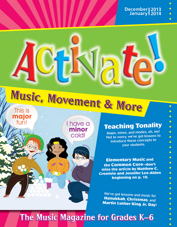 Activate! Dec 13/Jan 14