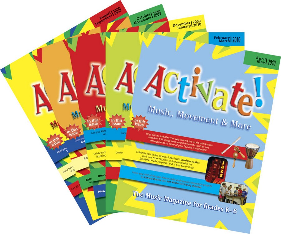 Activate! (2009-2010) Complete Set of Vol. 4