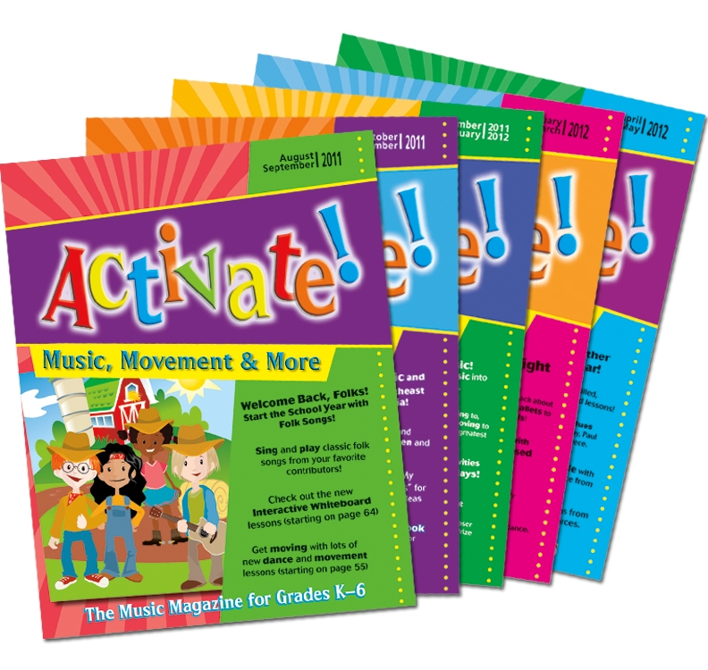 Activate! (2011-2012) Complete Set of Vol. 6