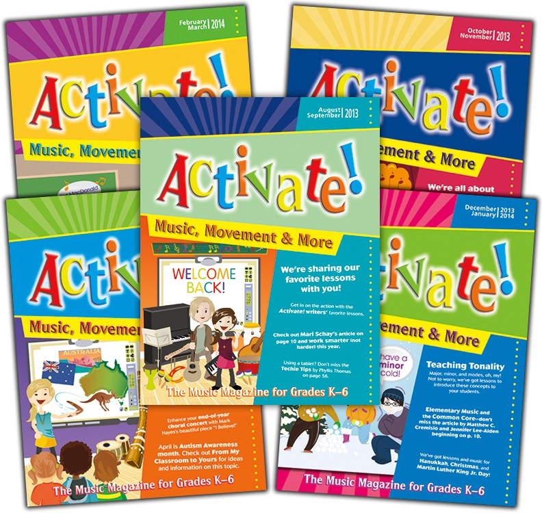 Activate! (2013-2014) Complete Set of Vol. 8