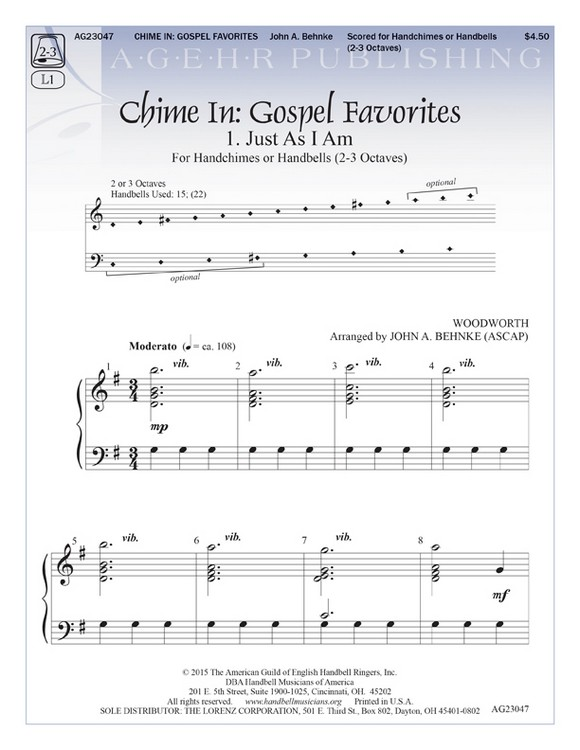 Chime In: Gospel Favorites