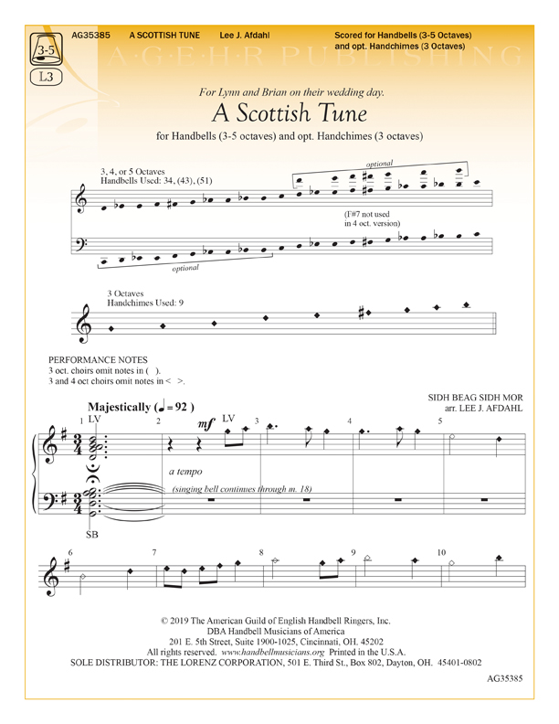 A Scottish Tune