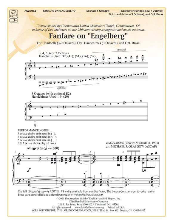 "Fanfare on ""Engelberg"""