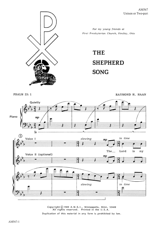 The Shepherd Song