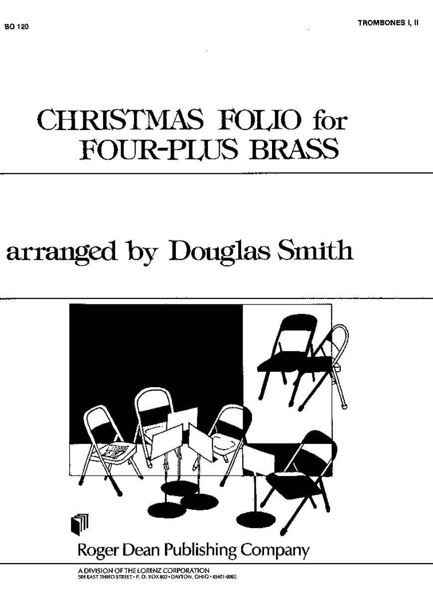 Christmas Folio for Four-Plus Brass - Tbn 1 and 2