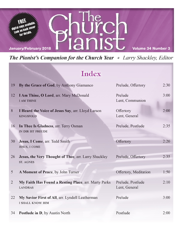 The Church Pianist Jan/Feb 2018 - Digital Delivery