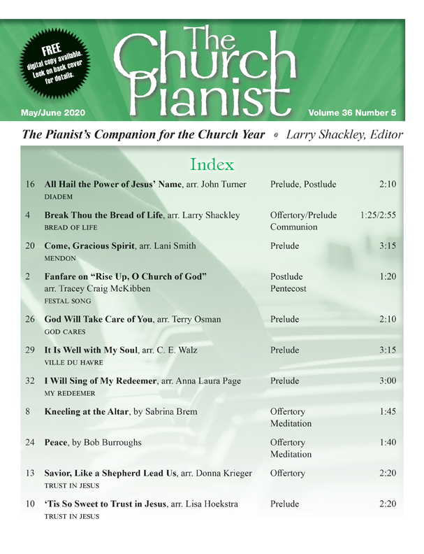 The Church Pianist May/June 2020