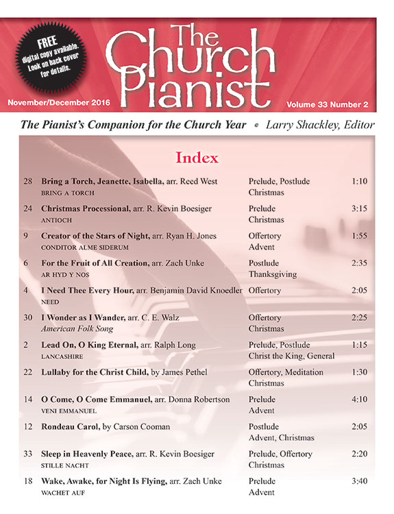 The Church Pianist Nov/Dec 2016