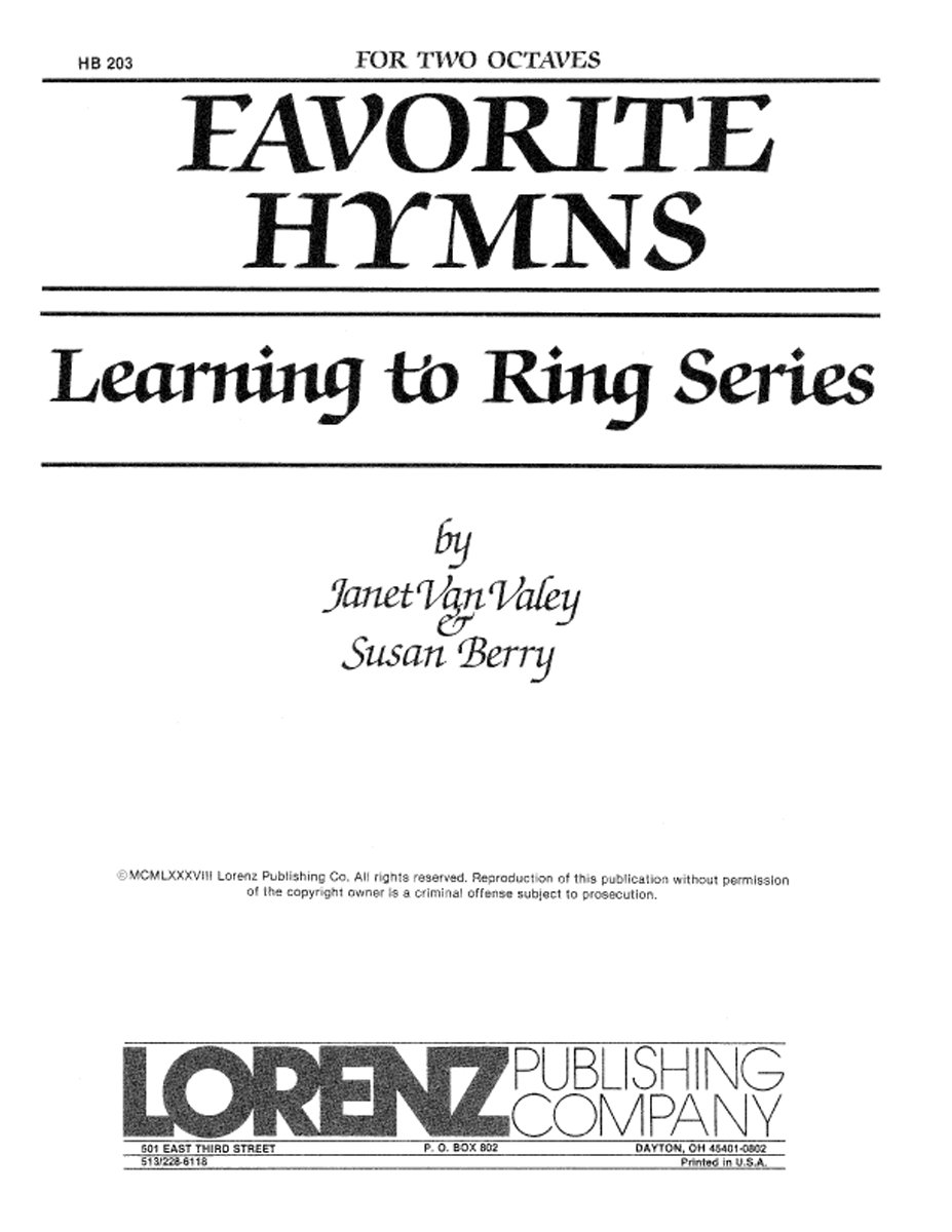 Learning to Ring Favorite Hymns