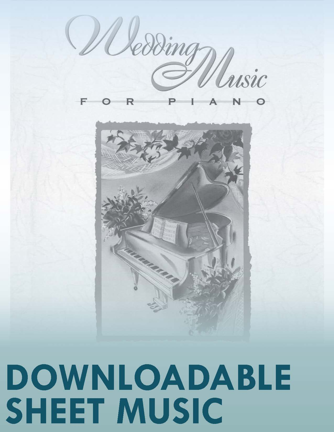 Wedding Music for Piano (Digital Download)