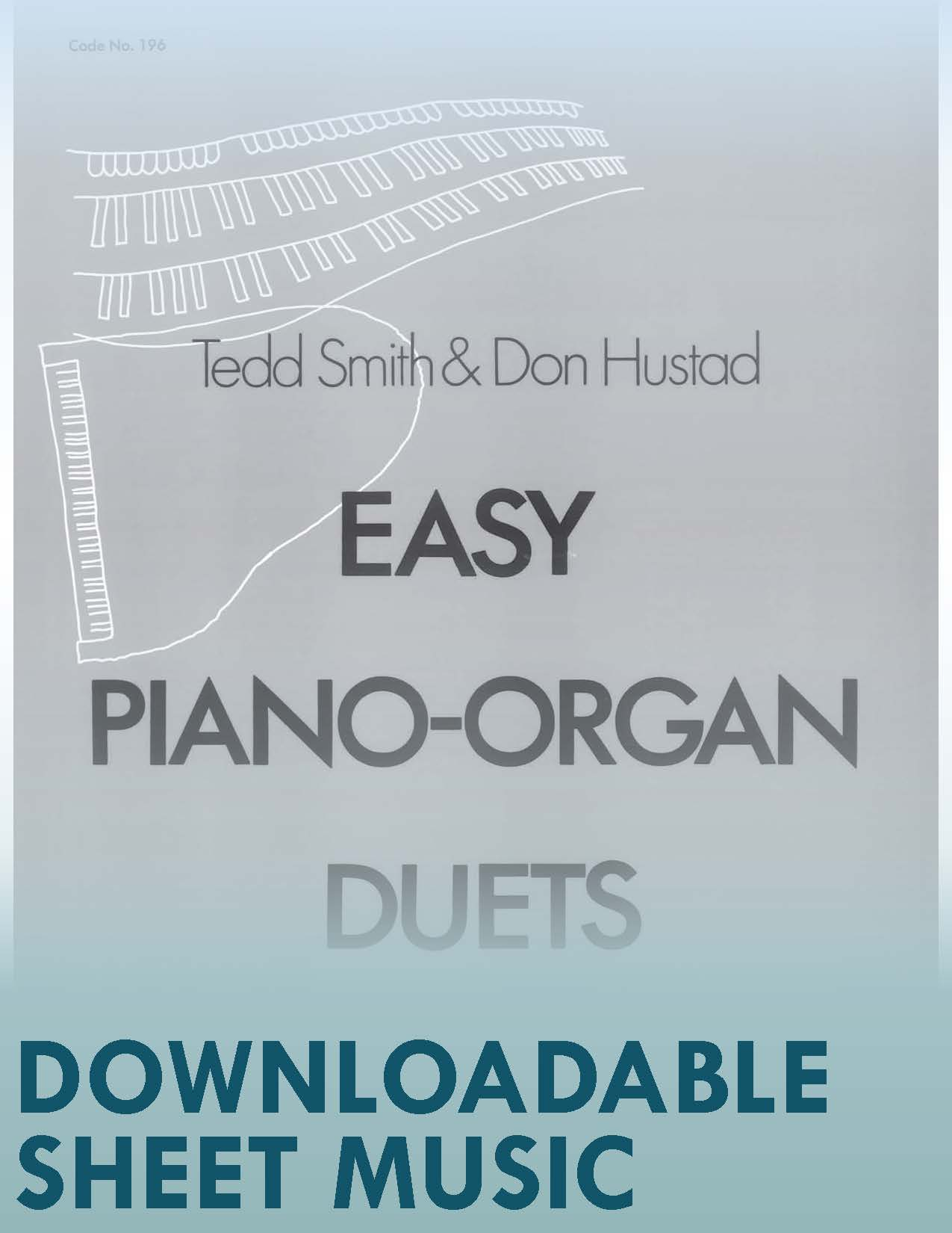 Easy Piano-Organ Duets (Digital Download)
