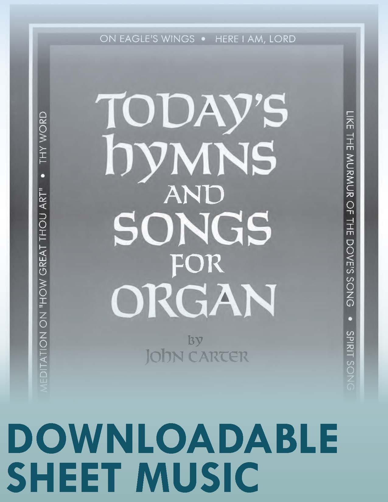 Today's Hymns and Songs for Organ (Digital Download)