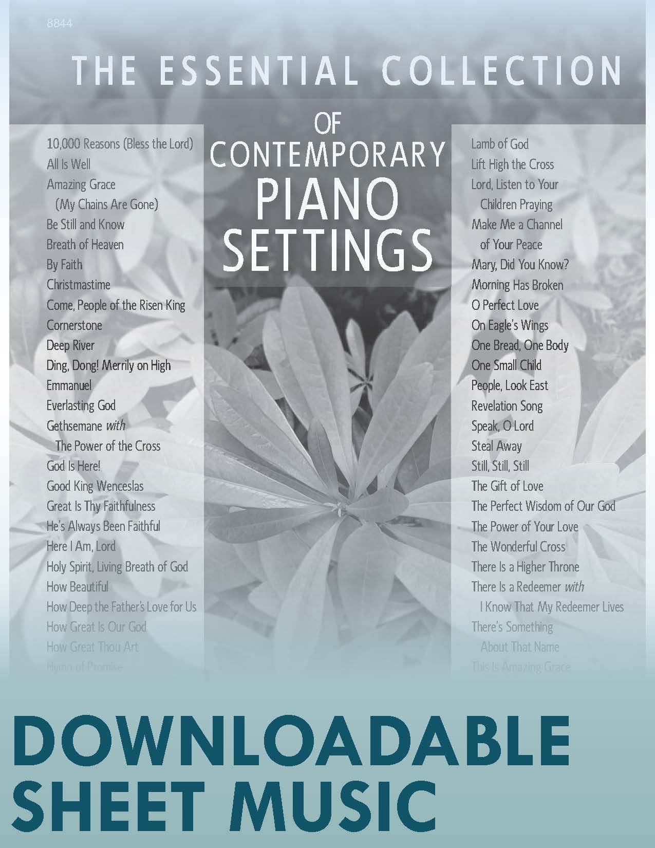 The Essential Collection of Contemporary Piano Settings (Digital Download)
