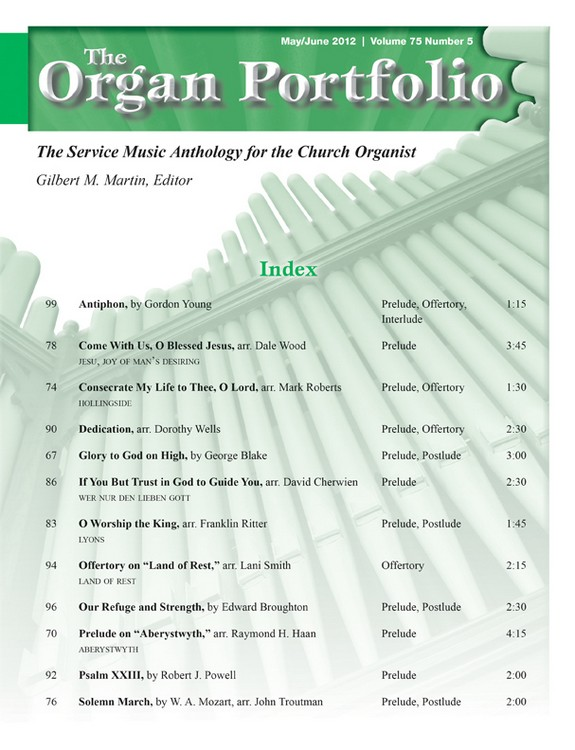 Organ Portfolio May/Jun 2012