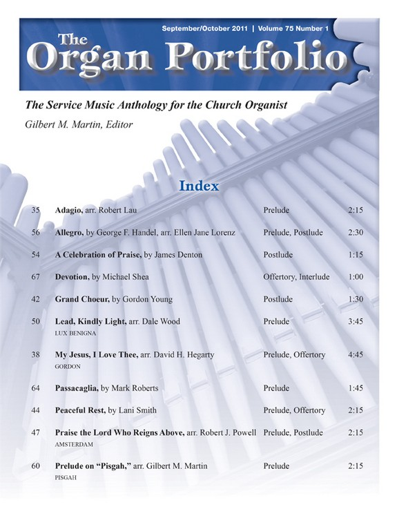 Organ Portfolio Sept/Oct 2011