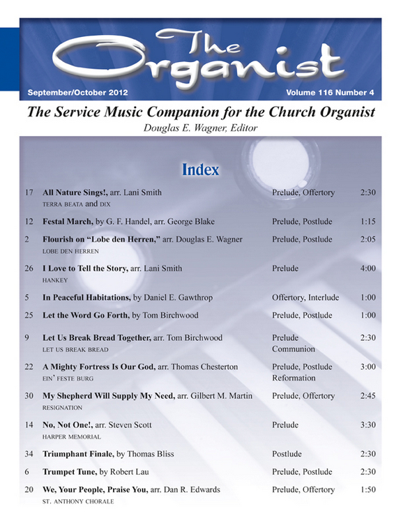 The Organist Sept/Oct 2012
