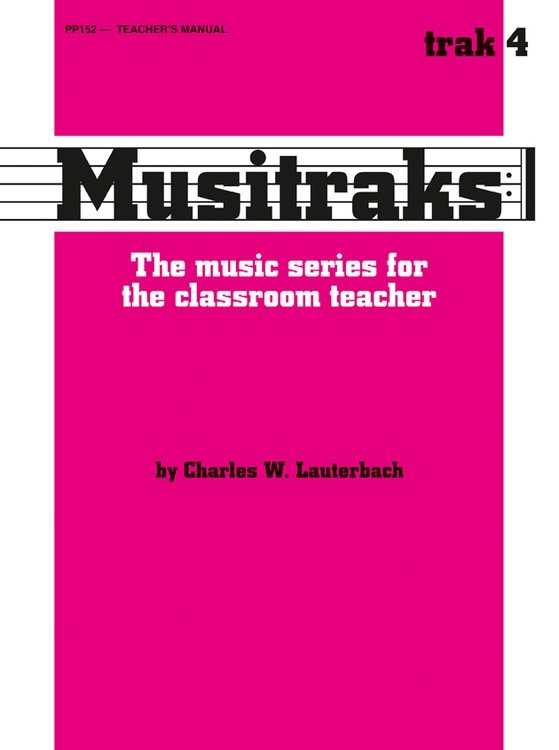 Musitraks 4 - Teacher's Manual