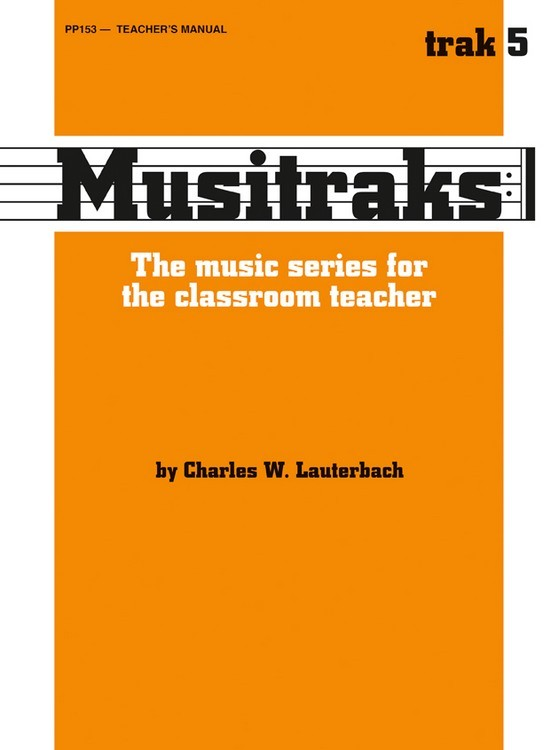 Musitraks 5 - Teacher's Manual
