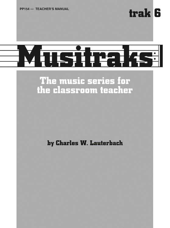 Musitraks 6 - Teacher's Manual