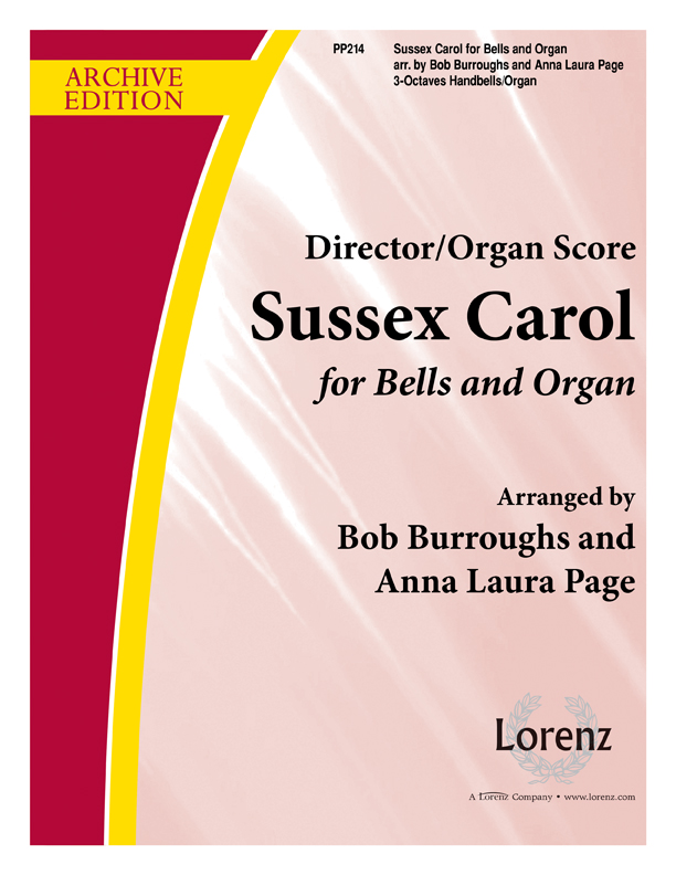 Sussex Carol Organ Score