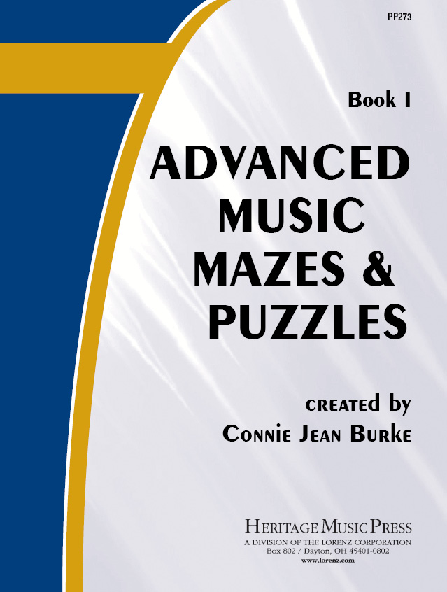 Advanced Music Mazes & Puzzles, Book I