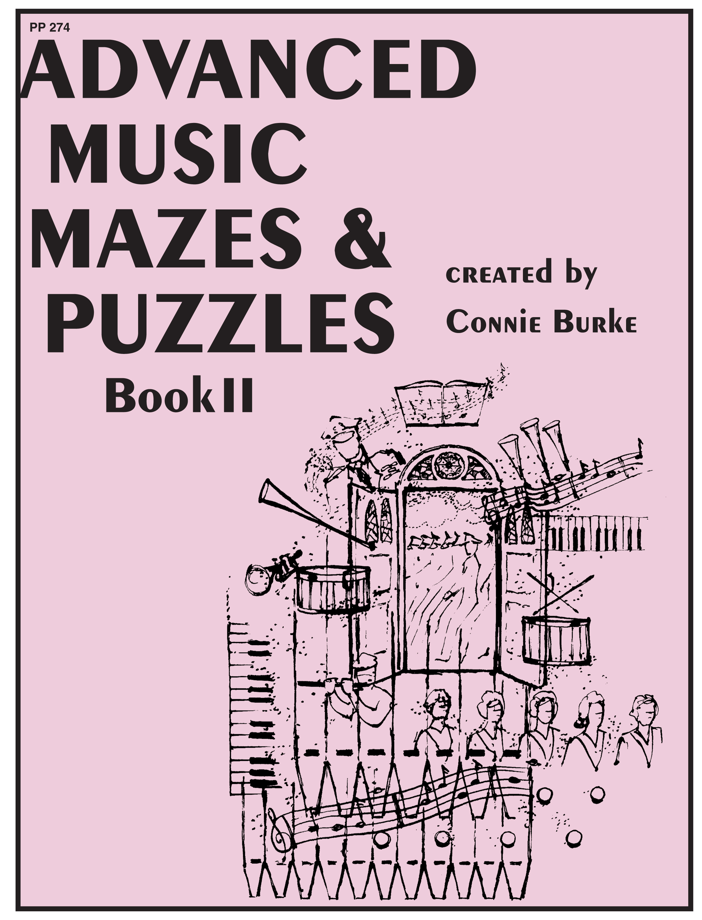 Advanced Music Mazes & Puzzles, Book II