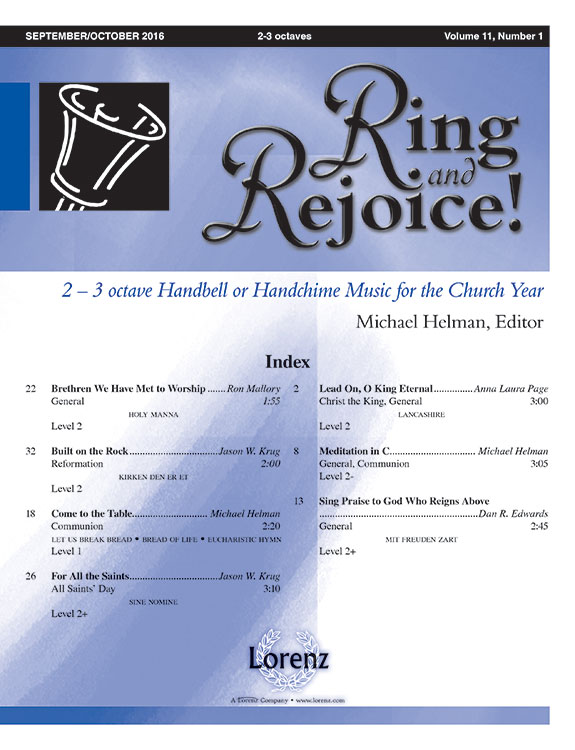 Ring and Rejoice! Sept/Oct 2016