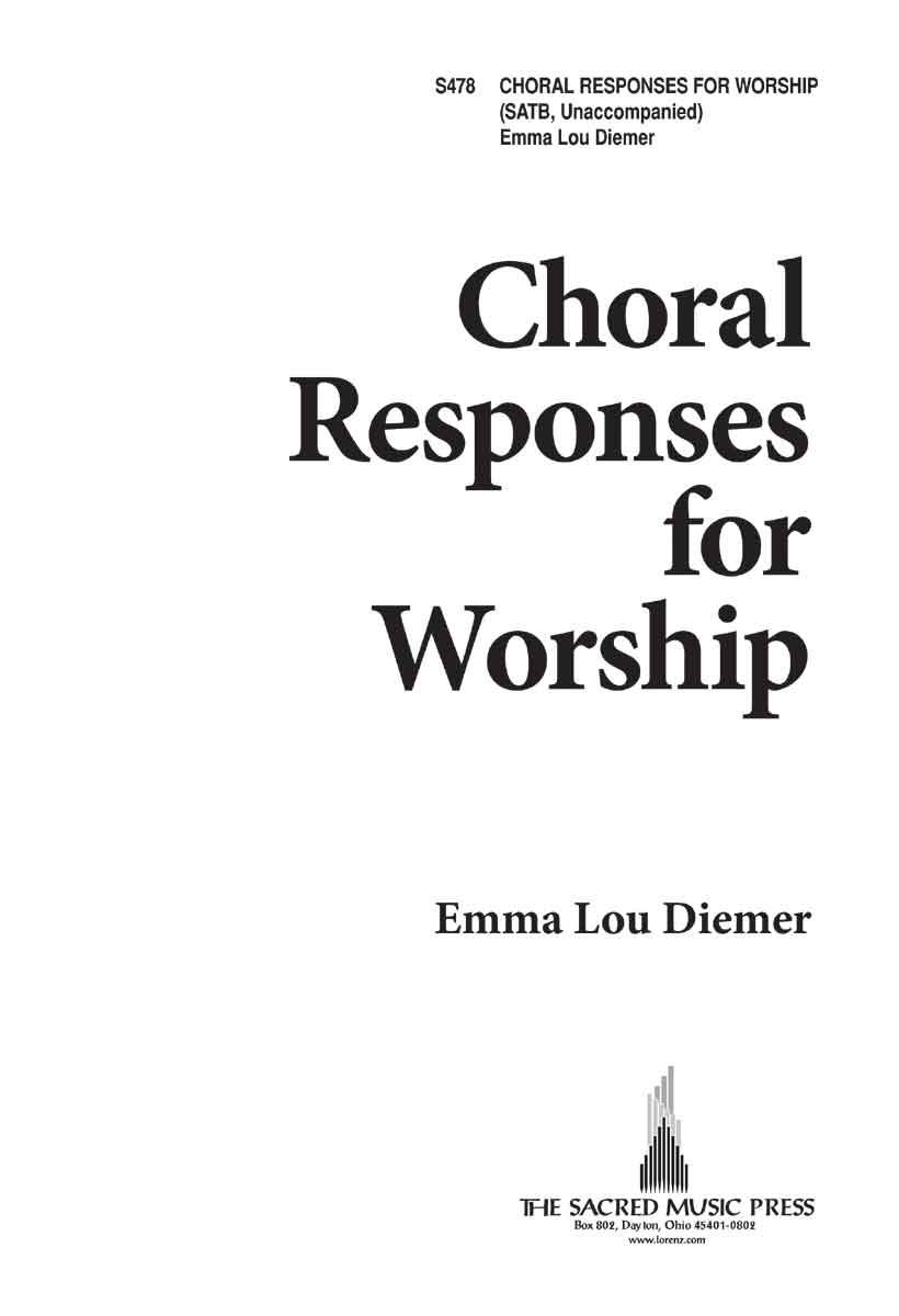 Choral Responses for Worship