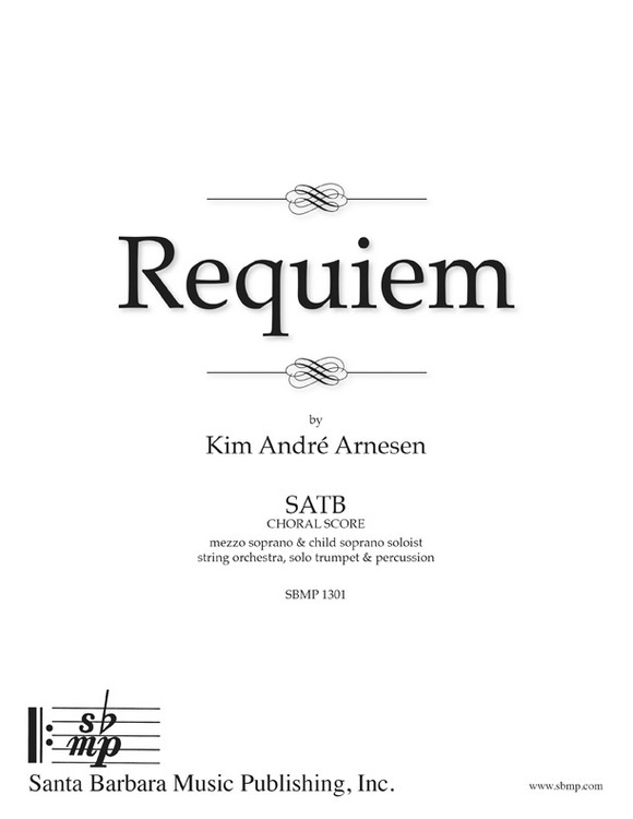 Requiem - Conductor's Score and Parts