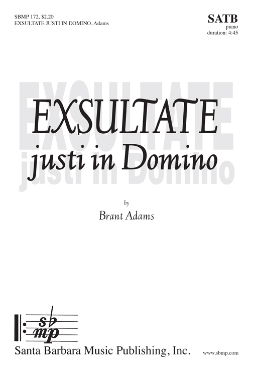 Exsultate Justi in Domino